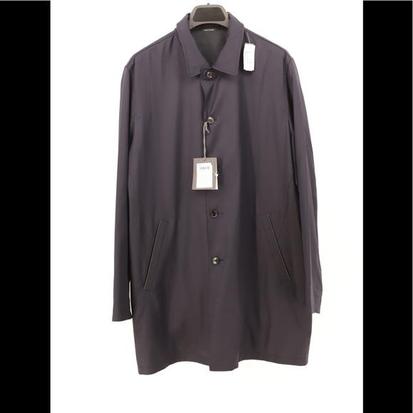 7aa6e1eac1 Ermenegildo Zegna Jackets & Coats   Mens Blue Coat In Blue Size 54r ...